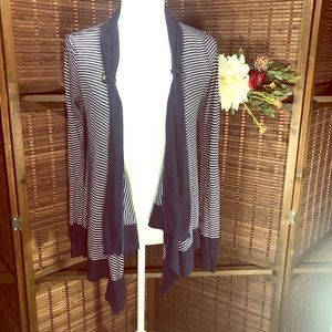 Splendid casual striped cardigan